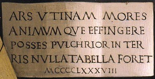 Inscripción Ghirlandaio